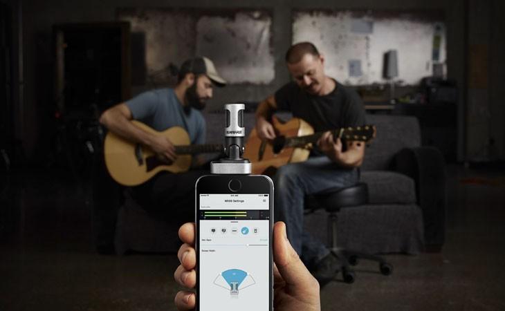 Micrófono Stereo digital para iOS MV88