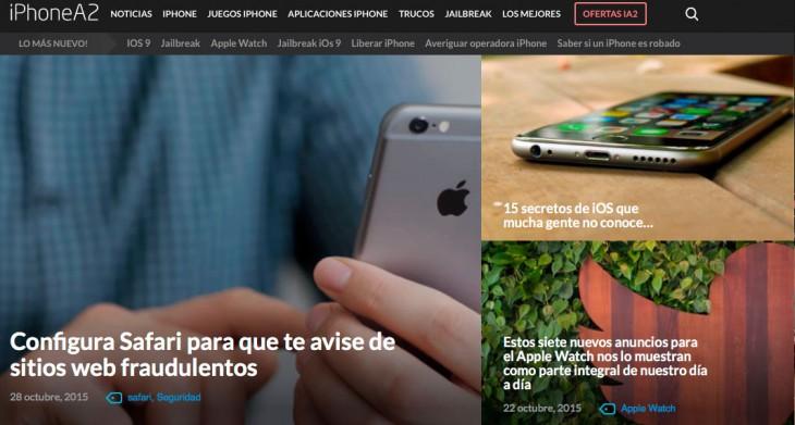 Bienvenido al nuevo iPhoneA2, ¡Estrenamos diseño!