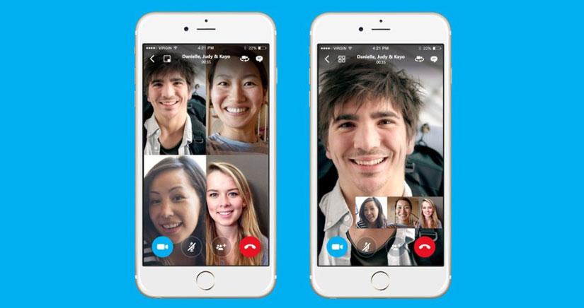 Skype: las videollamadas grupales llegan al iPhone