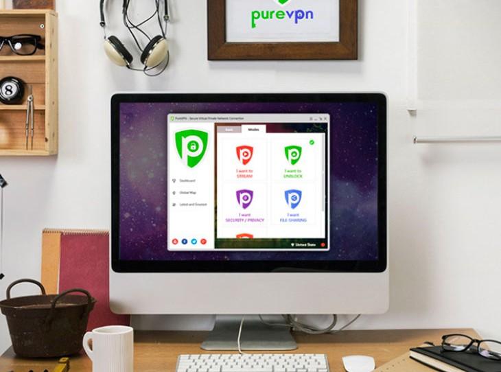 PureVPN [Suscripción para toda la vida]
