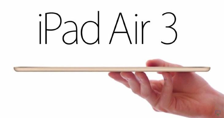 El iPad Air 3 podría parecerse a un iPad Pro más pequeño