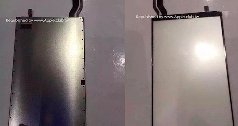 Se filtran imágenes de la supuesta pantalla retroiluminada de un iPhone 7