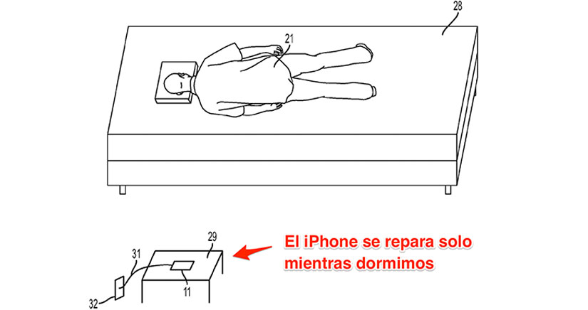 Apple inventa un iPhone que se repara solo mientras no lo estás usando