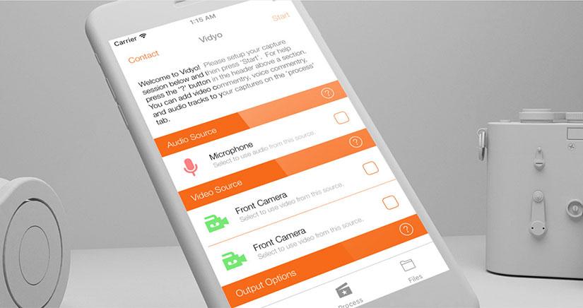 Vidyo permite grabar la pantalla de un iPhone sin necesidad de JailBreak