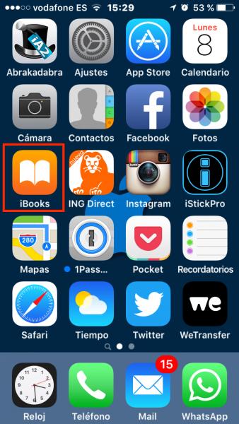C�mo eliminar libros y PDF ya le�dos en el iPhone