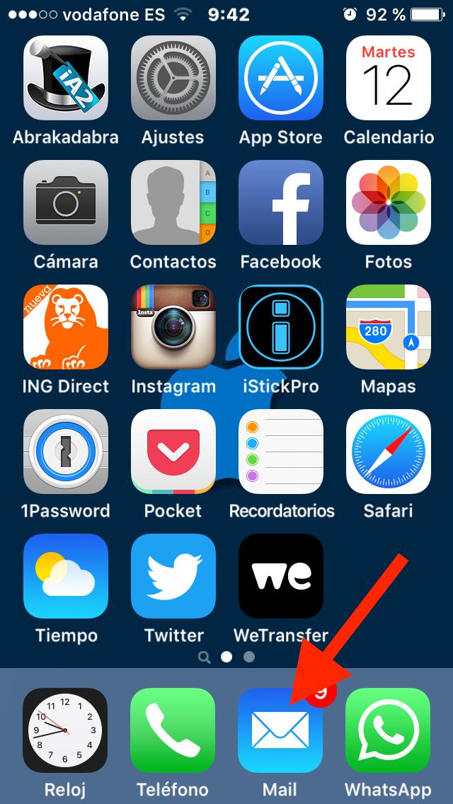 C mo cambiar el nombre de tus carpetas en la app mail en - App decorar fotos ...