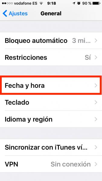 Porcentaje bateria iPhone atascado