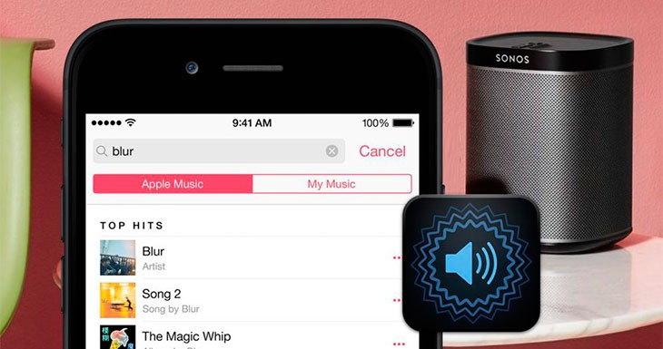 Los altavoces Sonos ya soportan Apple Music