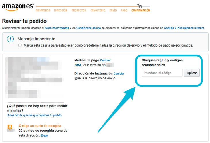Como-canjear-codigos-promocionales-de-Amazon