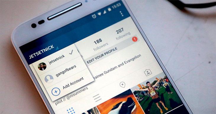 Ya es oficial: Instagram anuncia el soporte para múltiples cuentas