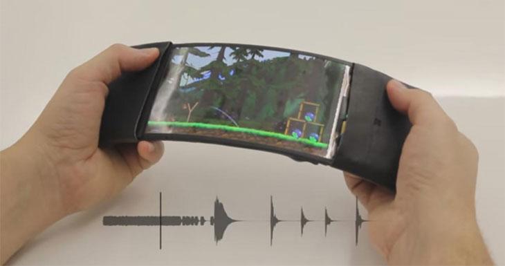 Algún día, nuestro smartphone será totalmente flexible