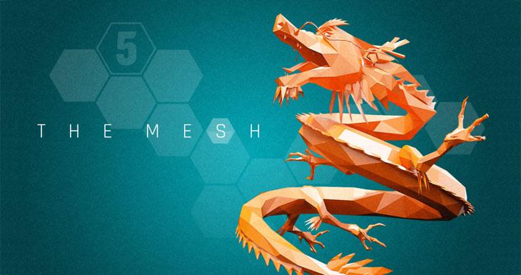 La aplicación gratis de la semana es The Mesh, un adictivo puzle matemático