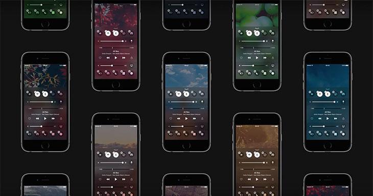 Así podría ser el Centro de Control en iOS 10 [Concepto]