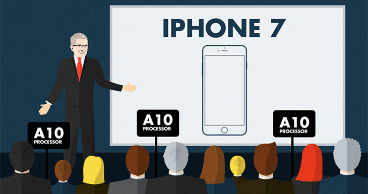 ¡Adiós Samsung! TSMC fabricará la totalidad de los chips A10 del iPhone 7