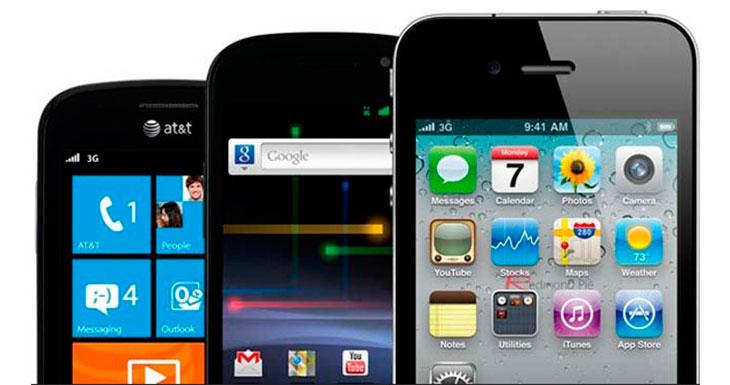 Los smartphones Android fallan más que los iPhones
