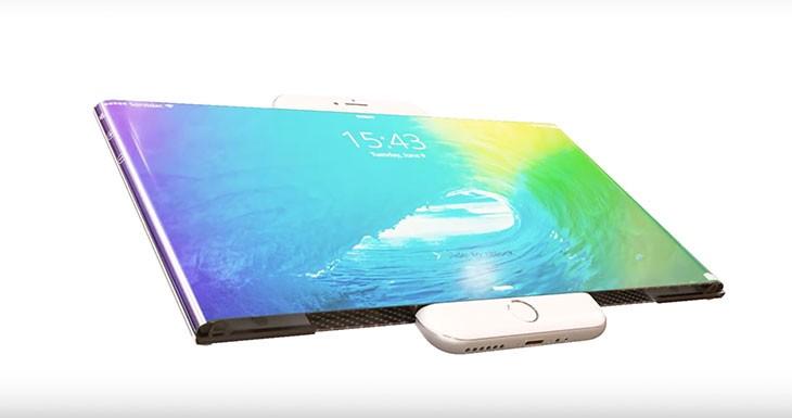 Este concepto de iPhone 7 con pantalla extensible es alucinante
