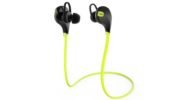 Auriculares Bluetooth deportivos para iPhone de Aukey