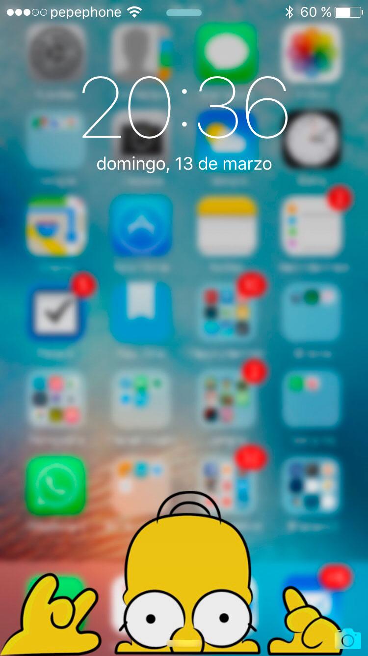 C mo hacer fondos de pantalla chulos para el iphone tu for Aplicaciones de fondos de pantalla