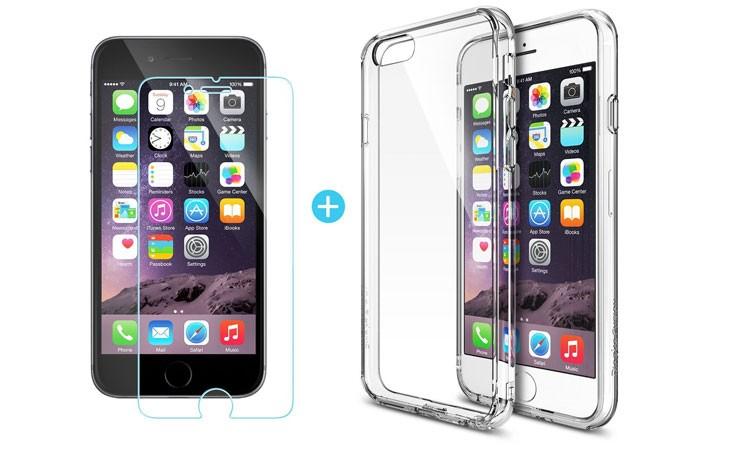Funda transparente para iPhone 6/6S Plus Ringke FUSION