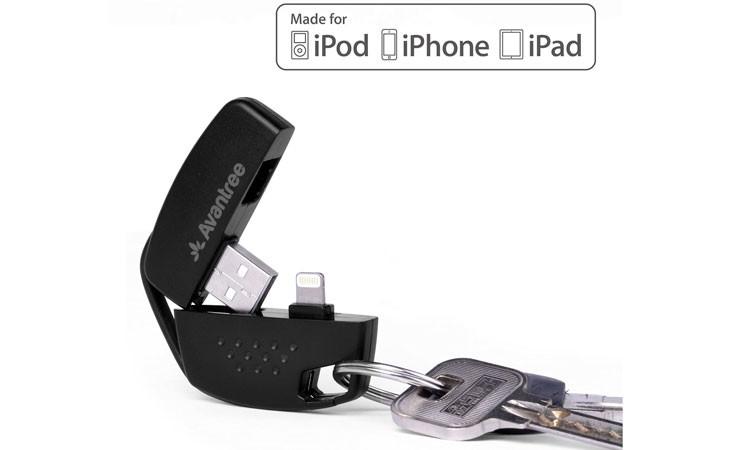 Llavero cargador y sincronizador para iPhone MFI