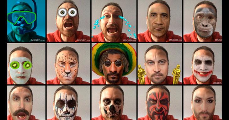 Facebook compra MSQRD, la popular aplicación de filtros para selfies