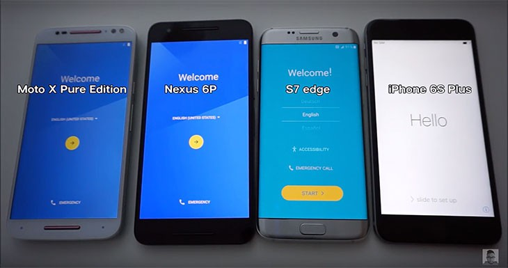 El iPhone 6s Plus supera al Galaxy S7 edge en un test de velocidad