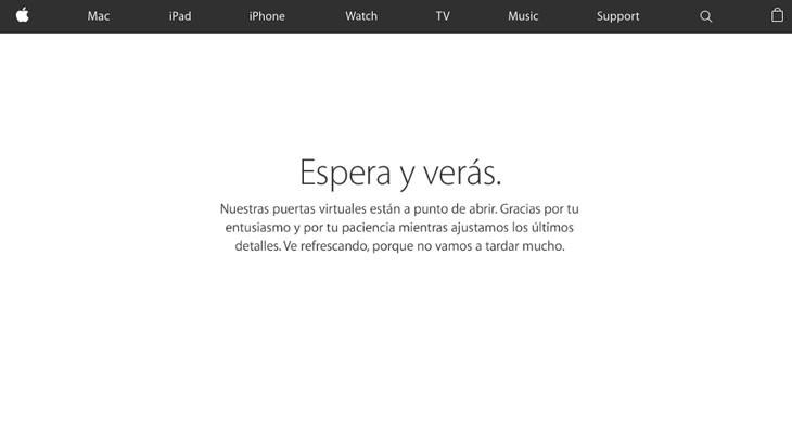 Apple cierra la Apple Store Online en espera de todas las novedades de hoy
