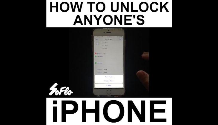 Este vídeo viral en el que desbloquean un iPhone es falso, mira porqué….