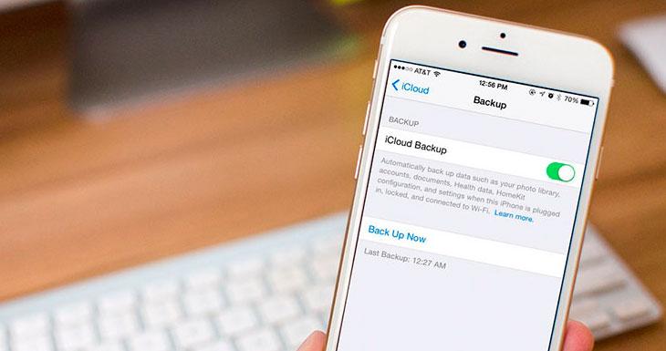 iOS 9.3 encripta las copias de seguridad de iCloud con una contraseña