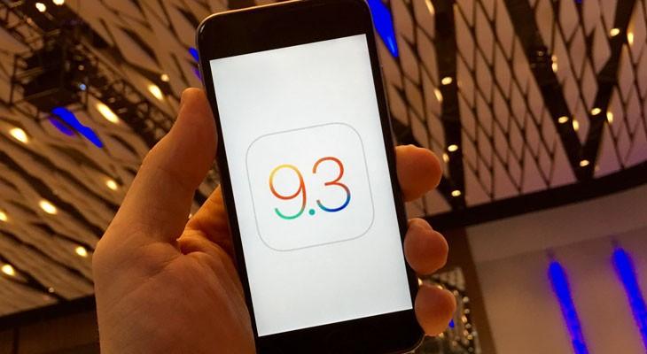 iOS 9.3 disponible para descargar estas son las novedades