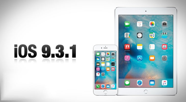 iOS 9.3.1 disponible para descargar, arregla problemas con enlaces