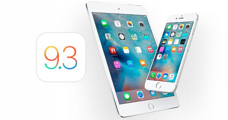 iOS 9.3 provoca fallos en Safari y otras aplicaciones