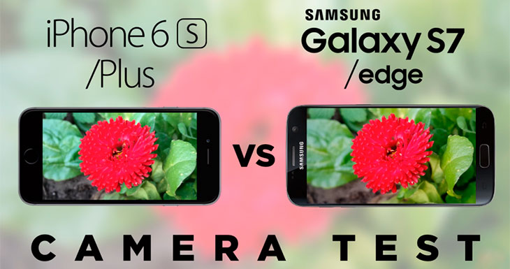 El Galaxy S7 derrota al iPhone 6s en un test de cámara