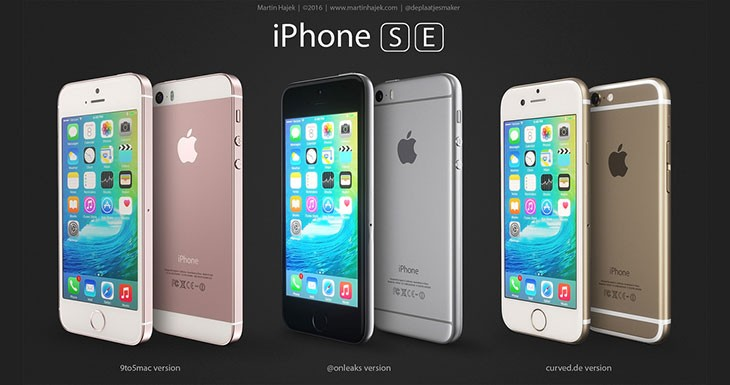 Os mostramos tres posibles versiones del iPhone SE [Fotos]