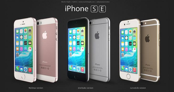 Os mostramos tres posibles versiones del iPhone SE [Fotos]