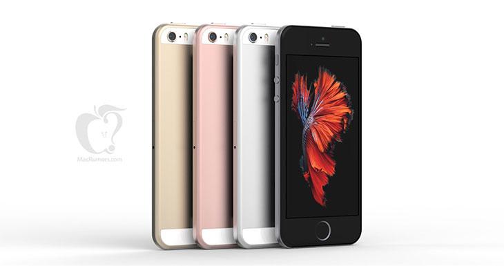Un nuevo render nos muestra un iPhone SE muy parecido al iPhone 6