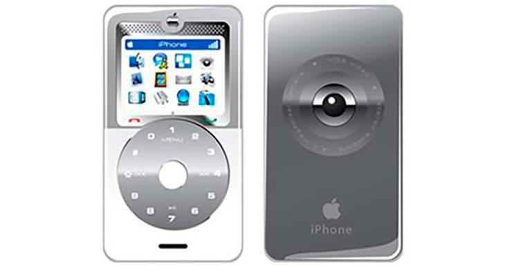 El primer prototipo de iPhone tenía un dial giratorio digital