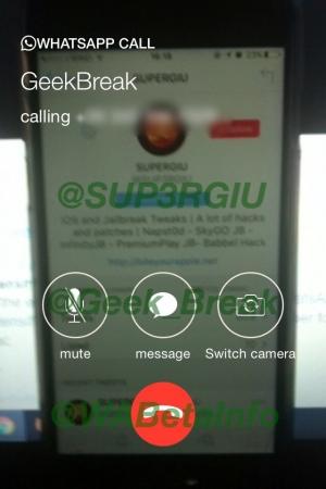 Llamadas de vídeo WhatsApp