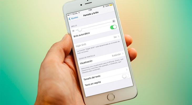 Cómo activar el modo de bajo consumo y el modo noche a la vez en el iPhone