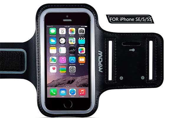 Brazalete deportivo iPhone 5, 5s y SE - Mpow