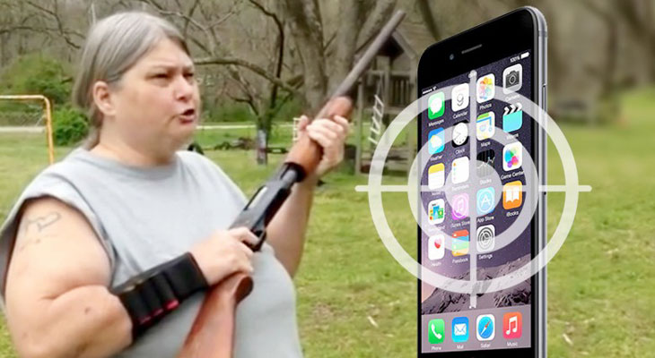 Esta madre sabe cómo acabar con la adicción al iPhone de sus hijos…