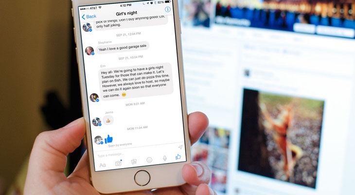 Cómo ver los mensajes ocultos de Facebook Messenger