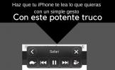 Cómo hacer que tu iPhone te lea cualquier texto de la pantalla con un simple gesto