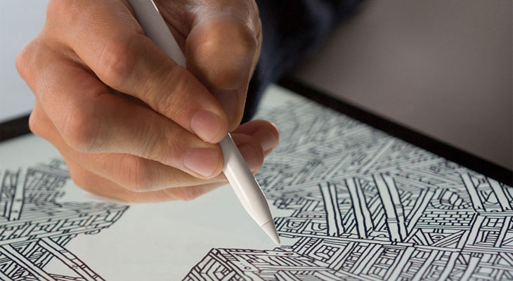 El Apple Pencil 2 podría incluir Touch ID y puntas intercambiables especializadas