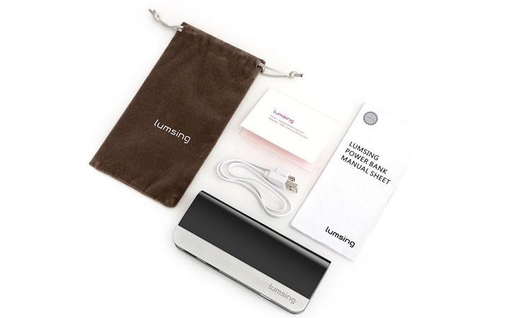 Batería externa Lumsing para iPhone de 10.400 mAh