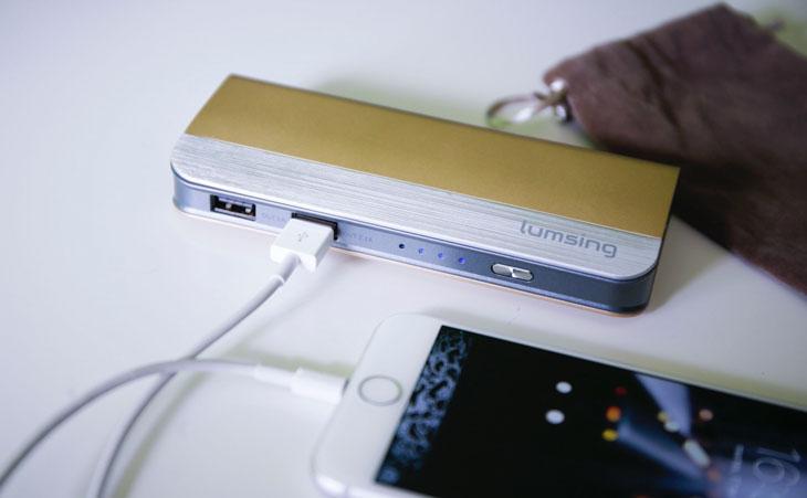 Review: Batería externa 10.400 mAh de Lumsing