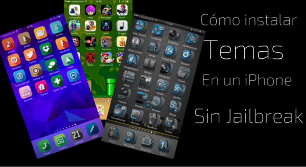 Cómo instalar temas en un iPhone sin Jailbreak | iPhoneA2
