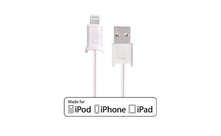 Cable Lighting retráctil MFi para iPhone y iPad