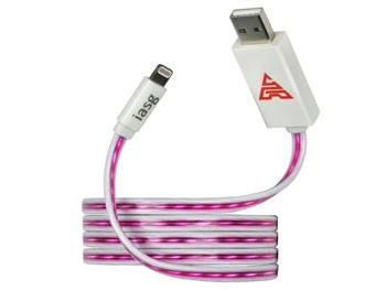 Cable de carga y sincronización para iPhone con luz Led