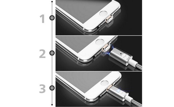 eec31bd1356 Cable Magnético de carga y sincronización para iPhone | iPhoneA2